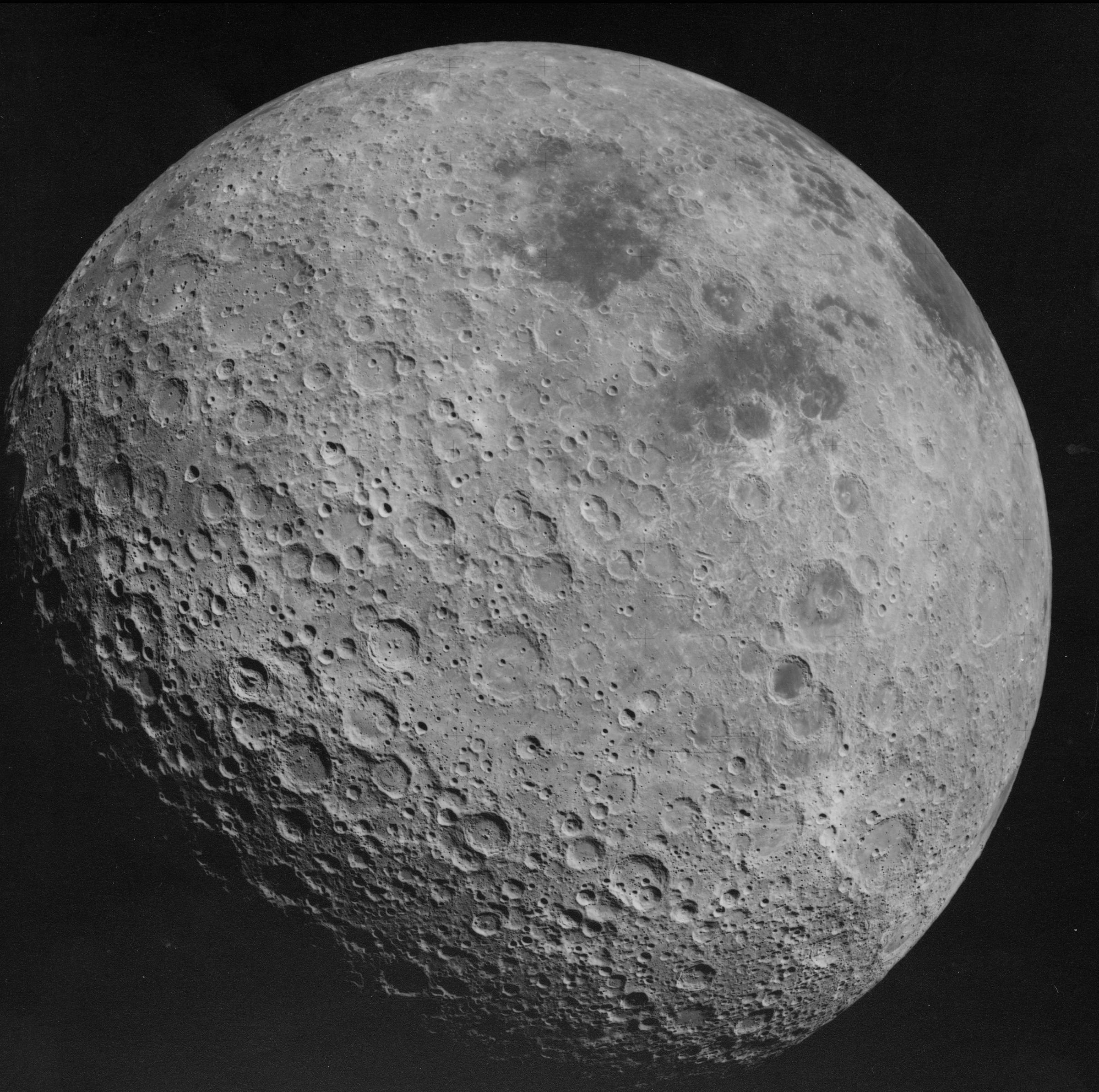 تصویر ناسا از آن سوی ماه
