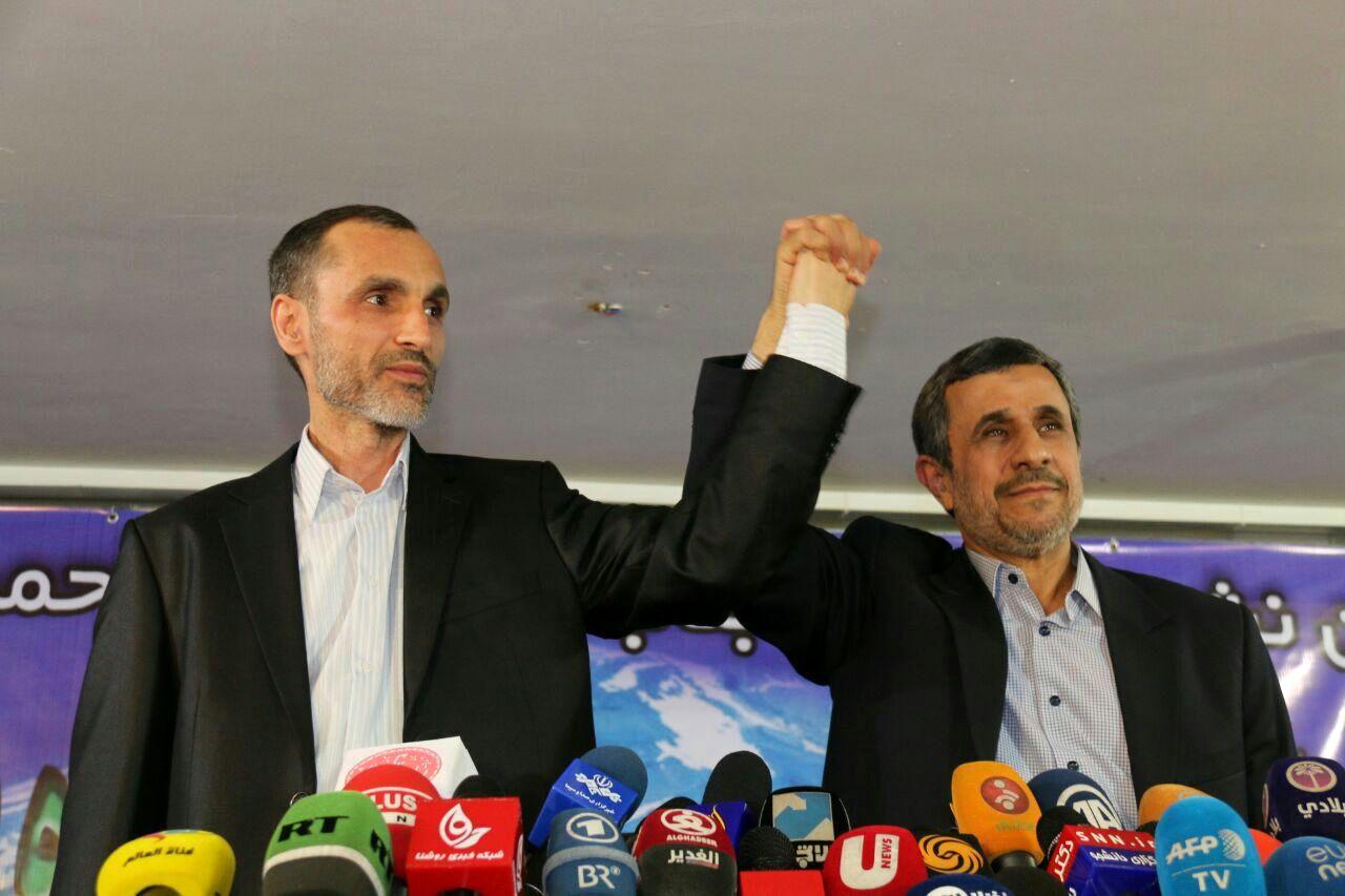 محمود احمدینژاد و حمید بقایی
