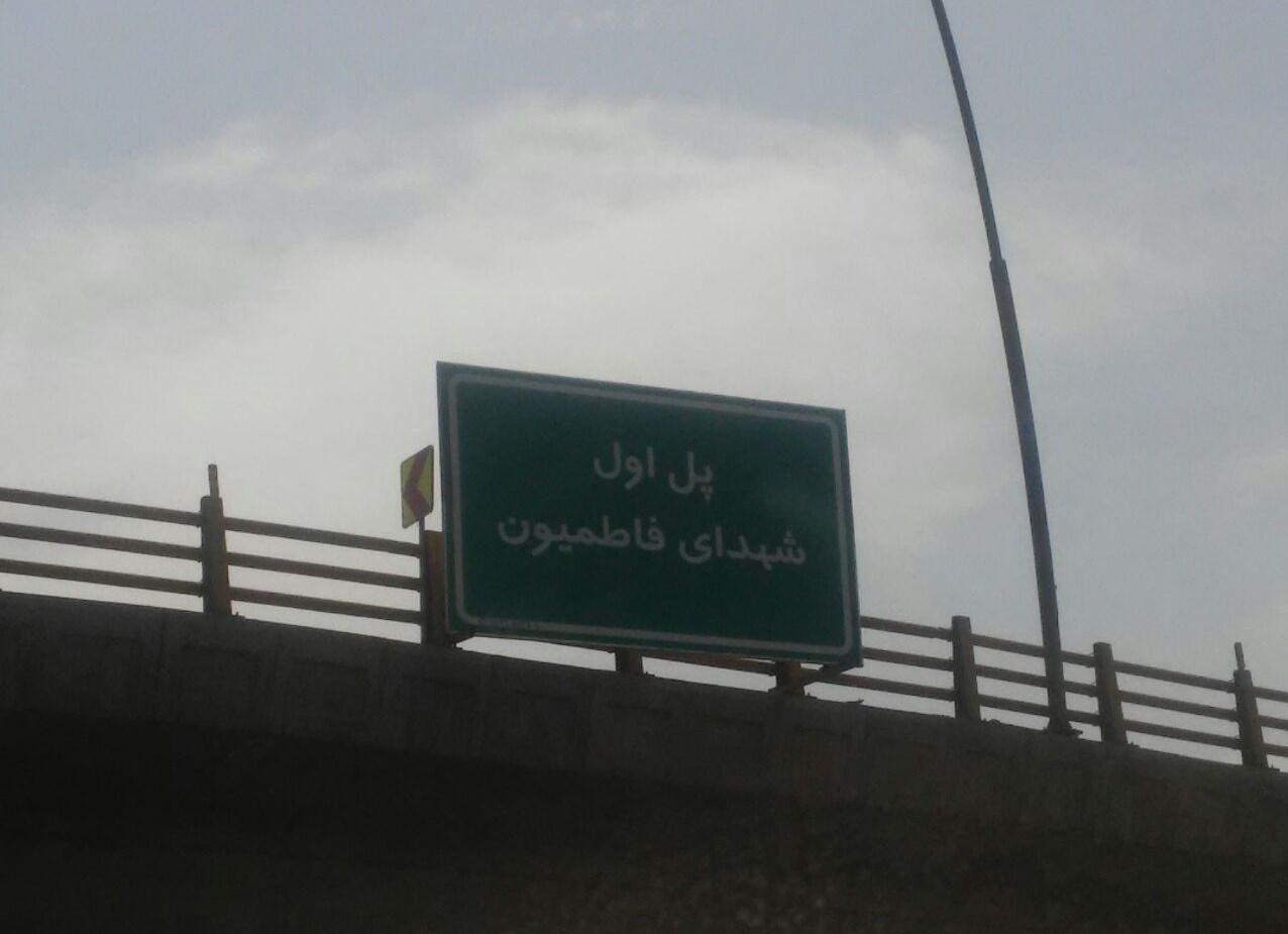 طبق مصوبه شورای شهر تهران برای نخستین بار در تهران یکی از پلهای چند وجهی به نام شهدای فاطمیون نامگذاری شد.
