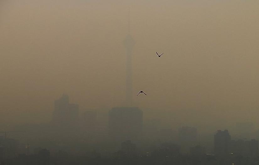 Smug in Iran's capital Tehran. January 3, 2021