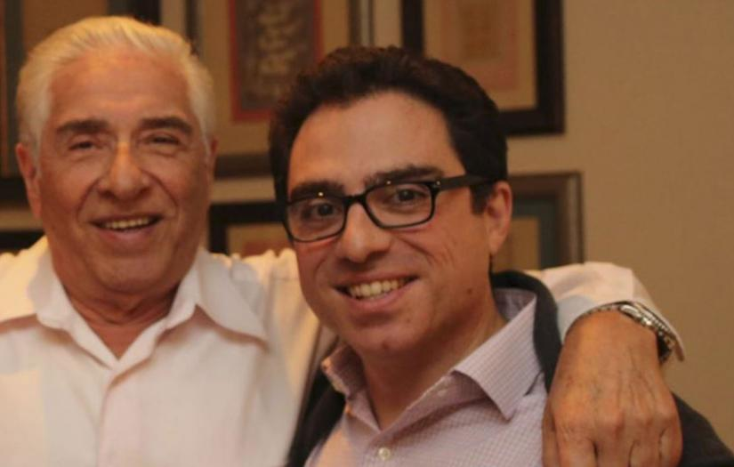 Babak and Siamak Namazis before their detention in Iran. FILE photo