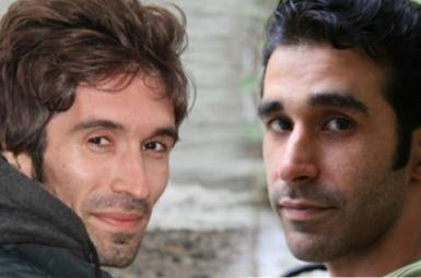 امید علی شناس و آرش صادقی زندانیان سیاسی