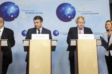 اتحادیه اروپا در بروکسل
