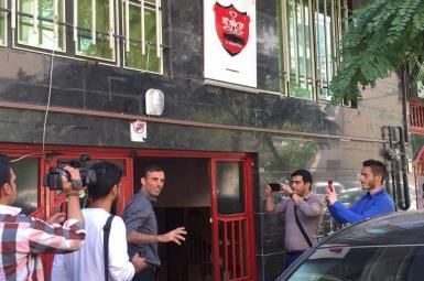 آتش سوزی ساختمان باشگاه پرسپولیس نافرجام ماند