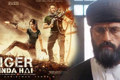 سجاد دل افروز، بازیگر ایرانی، در ایفای نقش در فیلم هندی «ببر زنده است»