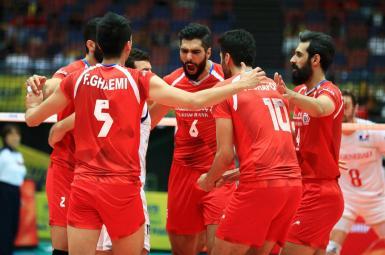 دیدار ایران و آلمان در لیگ والیبال ملتهای دنیا