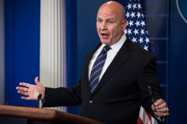 مکمستر، مشاور امنیت ملی کاخ سفید
