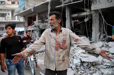 حمله جنگندههای روسیه در شرق سوریه