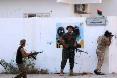 درگیری ارتش لیبی و عناصر داعش در شرق سرت