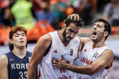بسکتبال کاپ آسیا؛ مصاف ایران و استرالیا برای قهرمانی