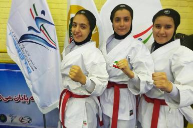 تیم کاتای دختران ایران