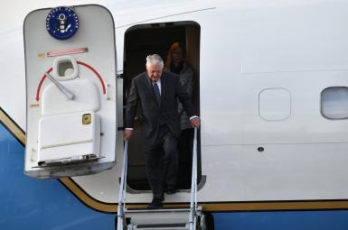 رکس تیلرسون، وزیر خارجه ایالات متحده در سفر جاری خود به خاورمیانه
