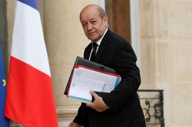 ژان ایو لودریان وزیر امور خارجه فرانسه