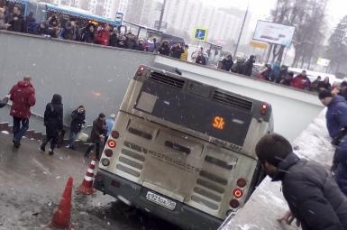 ۵ کشته و ۱۵ زخمی در حادثه زیر گرفتن عابران پیاده در مسکو