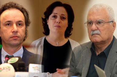 جورج صبرا، سهیر الاتاسی و خالد خوجه