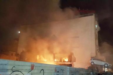 انفجار هایپرمارکت در شیراز