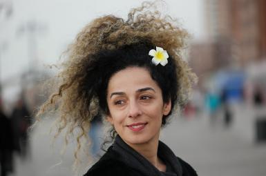 Masih Alinejad, Iranian journalist and human rights activist. FILE