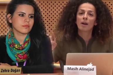 مسیح علینژاد و زهرا دوغان