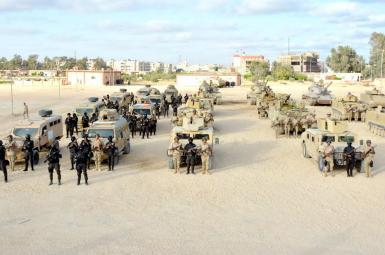 شبه نظامیان در استان شمال سینا