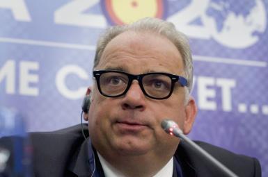 نناد لالوویچ، رئیس اتحادیه جهانی کشتی