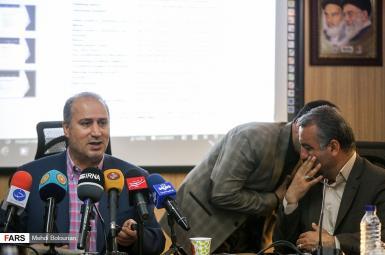 جلسه مهدی تاج با فراکسیون ورزش مجلس شورای اسلامی
