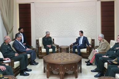 سرلشکر محمد باقری و بشار اسد