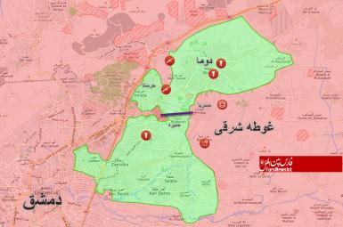 توافق نهایی برای انتقال نیروهای «جیشالاسلام» به شمال سوریه