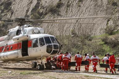پیکر ۱۱سرنشین هواپیمای سقوط کرده ترکیه در شهرکرد پیدا شد
