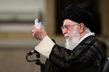 علی خامنهای رهبر جمهوری اسلامی ایران