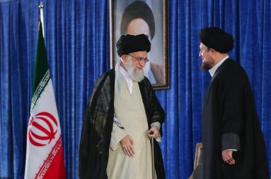 علی خامنهای و سیدحسن خمینی