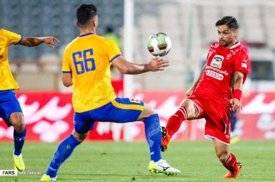 بازی پرسپولیس و نفت مسجدسلیمان در هفته چهارم لیگ برتر فوتبال ایران