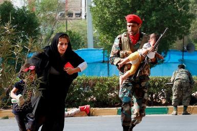 ۲۵ کشته و ۶۰ زخمی در حمله تروریستی به رژه نیروهای نظامی در اهواز
