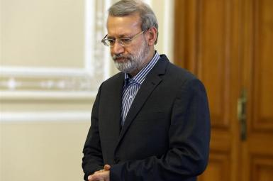 Former parliament speaker Ali Larijani, who was barred from running in Iran's presidential election.