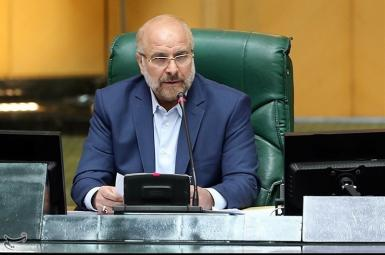 Mohammad Bagher Ghalibaf, Speaker of Iran's parliament. FILE photo