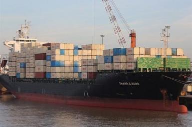 Iran's Shahre-Kord cargo ship. FILE PHOTO