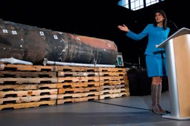 نیکی هیلی در رأس هیأت تحقیقاتی شورای امنیت درمورد موشکهای ایران