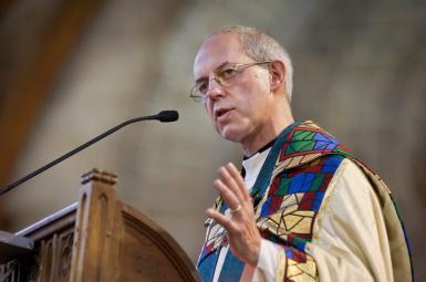 جاستین ولبی، اسقف اعظم کلیسای کانتربری در انگلستان