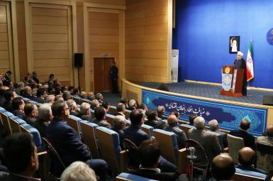 حسن روحانی درضیافت افطار با فعالان اقتصادی