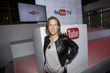 سوزان وجیکی مدیر اجرایی یوتیوب