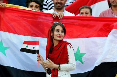 حضور زنان در مسابقه فوتبال ایران و سوریه