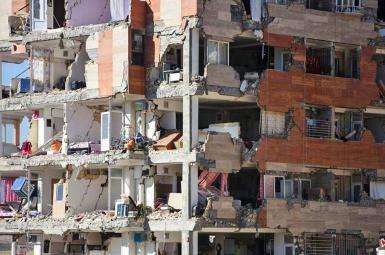 زلزله در غرب ایران مسکن مهر