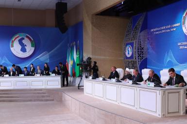 امضای کنوانسیون رژیم حقوقی دریای خزر