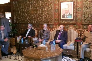 امیر حاتمی، وزیر دفاع ایران در دمشق