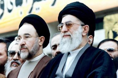 آیتالله علی خامنهای و محمد خاتمی