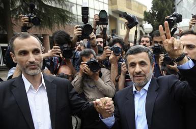 حمید بقایی معاون سابق محمود احمدینژاد