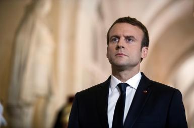 امانوئل مکرون رئیسجمهوری فرانسه
