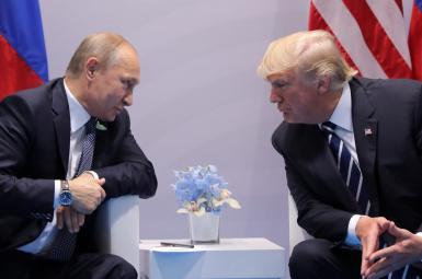 ولادیمیر پوتین و دونالد ترامپ