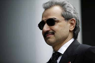 شاهزاده الولید بنطلال، میلیاردر عربستان سعودی، که در حدود دو ماه پیش، به اتهام فساد مالی بازداشت شده است