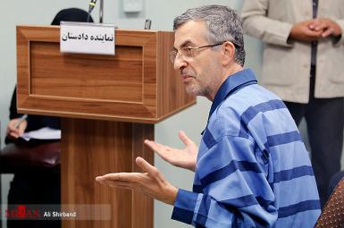 اسفندیار رحیممشایی در جلسه دادگاه