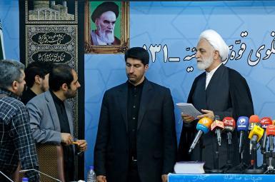 نشست خبری غلامحسین محسنی اژهای